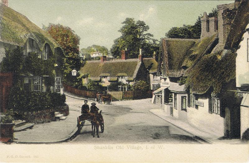 Shanklin Old Village. I. Of W.