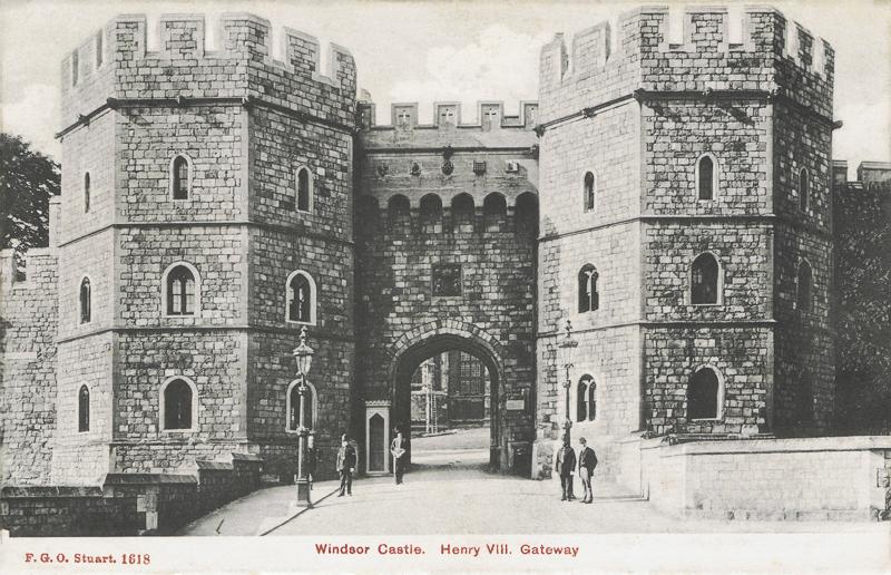 Windsor Castle. Henry VII Gateway.