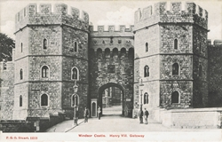1618  -  Windsor Castle. Henry VII Gateway.