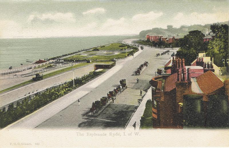 The Esplanade Ryde, I. of W.