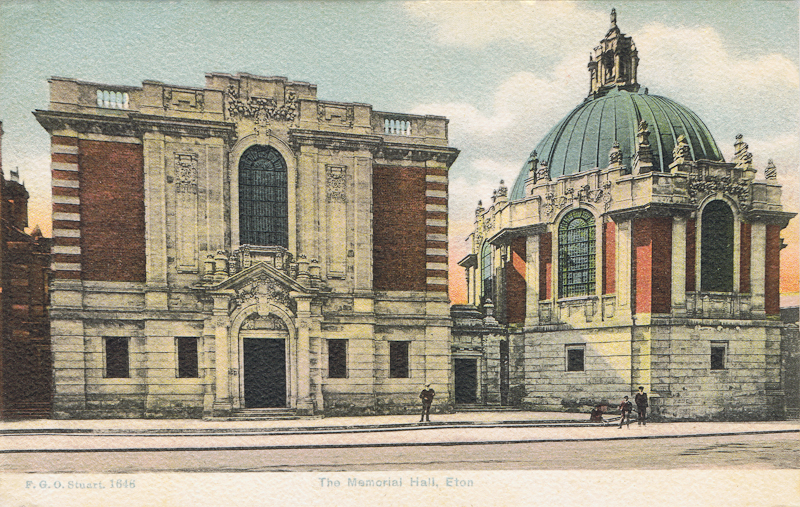 The Memorial Hall, Eton