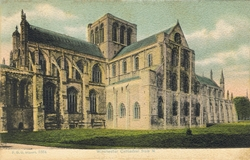 1664  -  Winchester Cathedral from N