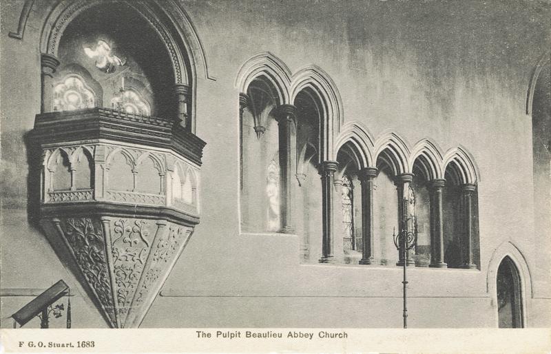 The Pulpit Beaulieu Abbey Church