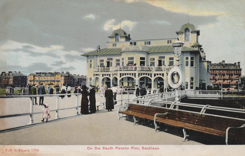 On the South Parade Pier, Southsea