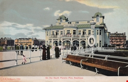 1780  -  On the South Parade Pier, Southsea