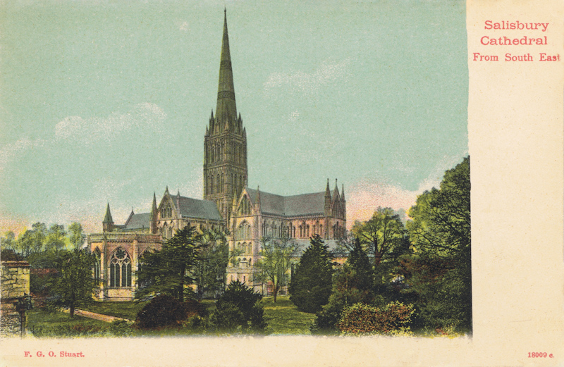 Salisbury Cathedral From South East