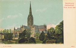 18009  -  Salisbury Cathedral From South East