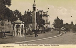 1955  -  The Pilgrim Father's Memorial Western Esplanade, Southampton