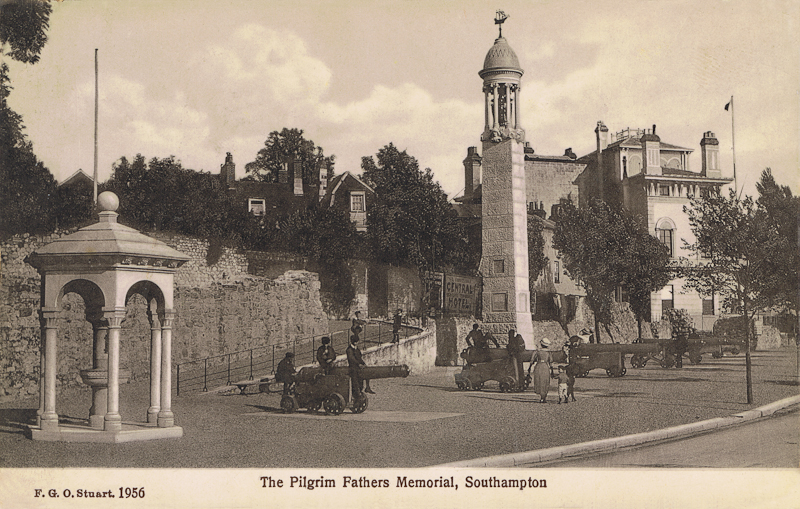 The Pilgrim Father's Memorial, Southampton