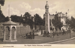 1956  -  The Pilgrim Father's Memorial, Southampton