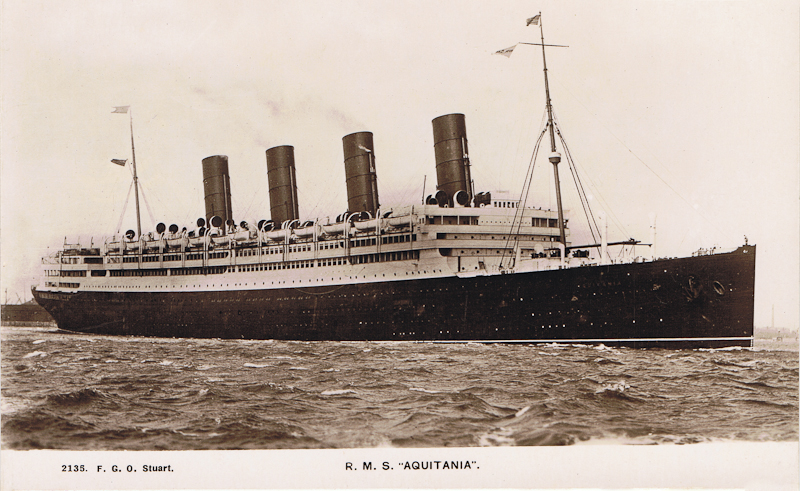 R.M.S. Aquitania