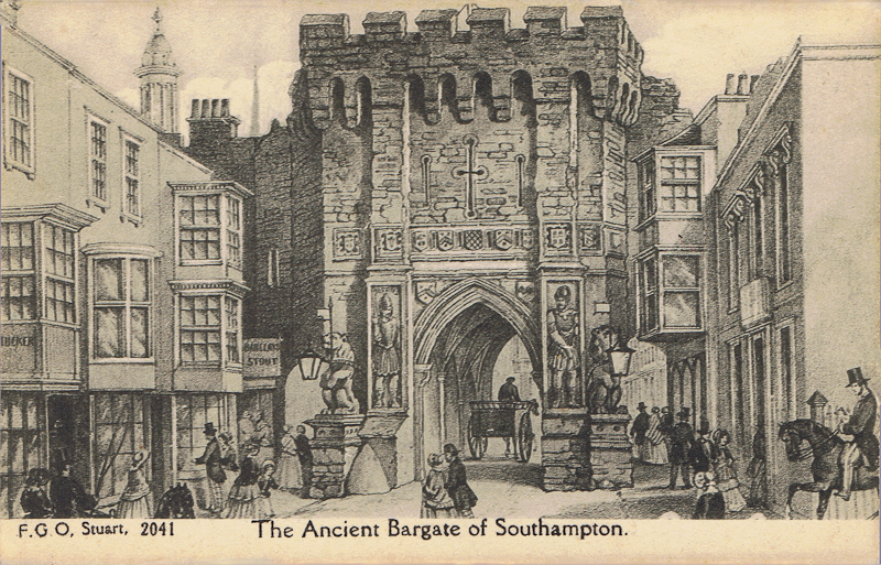 The Ancient Bargate of Southampton