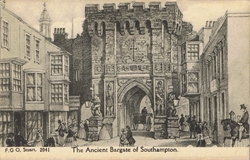 2041  -  The Ancient Bargate of Southampton