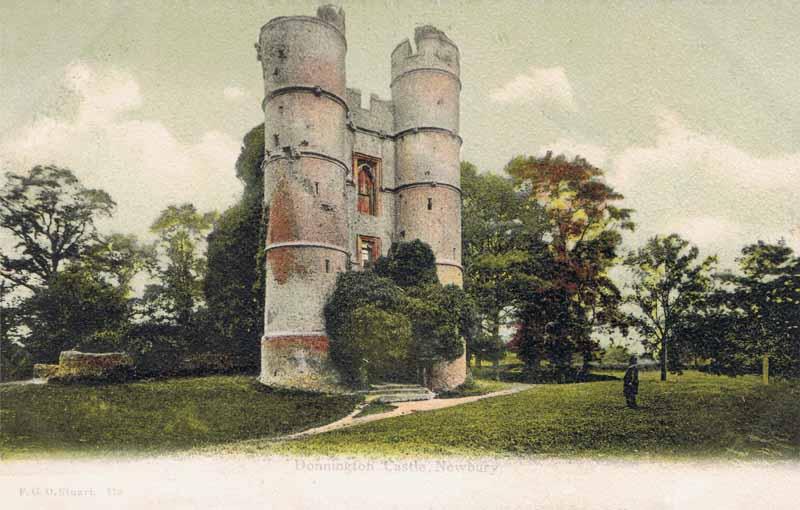 Donnington Castle. Newbury