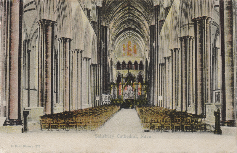 Salisbury Cathedral, Nave