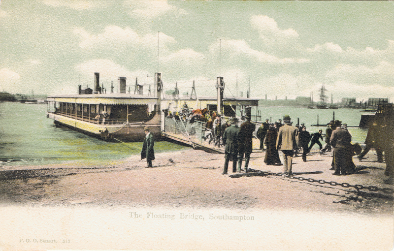 The Floating Bridge, Southampton