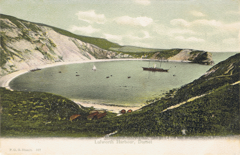 Lulworth Harbour, Dorset