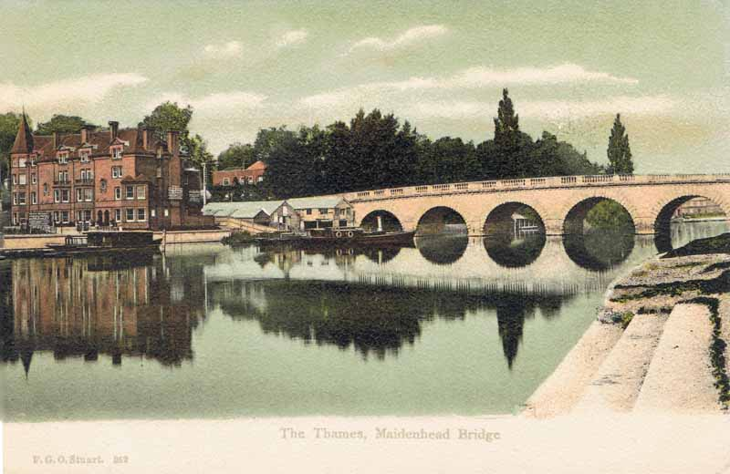 The Thames, Maidenhead Bridge