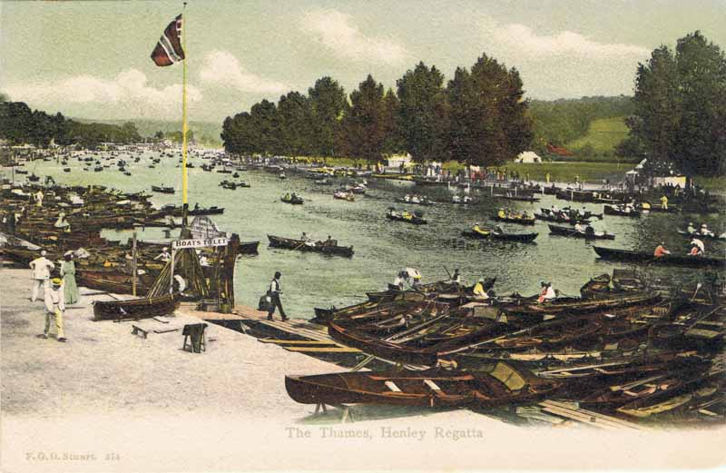 374  -  The Thames, Henley Regatta