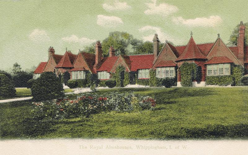 398  -  The Royal Almshouses, Whippingham, I.W.