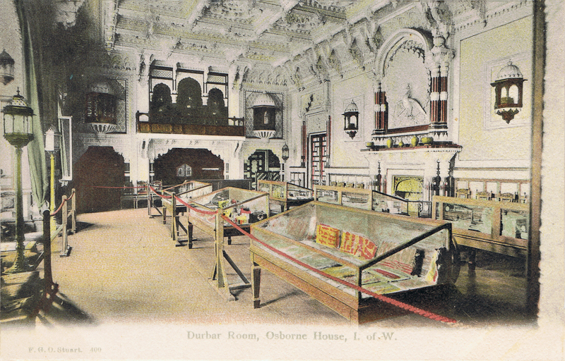 Durbar Room, Osborne House, I. of. W.