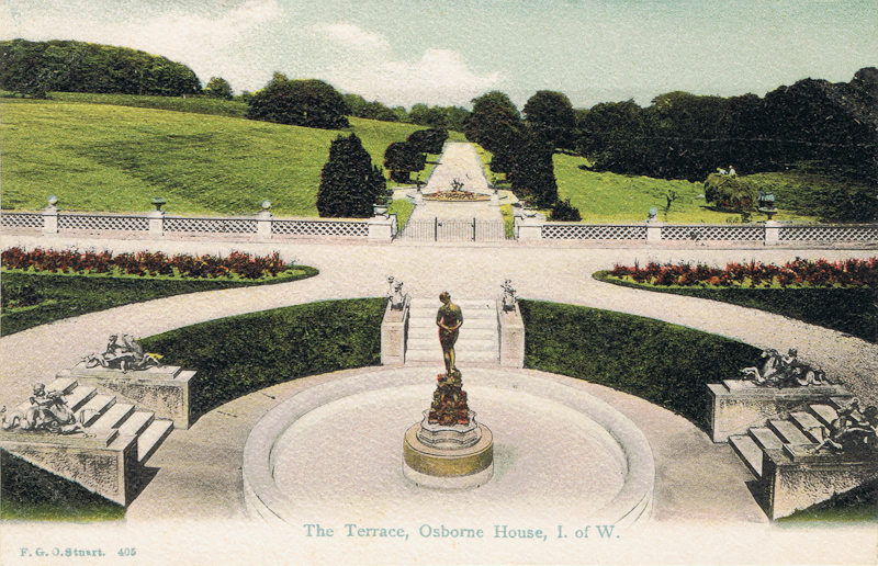 The Terrace, Osborne House, I. Of. W.