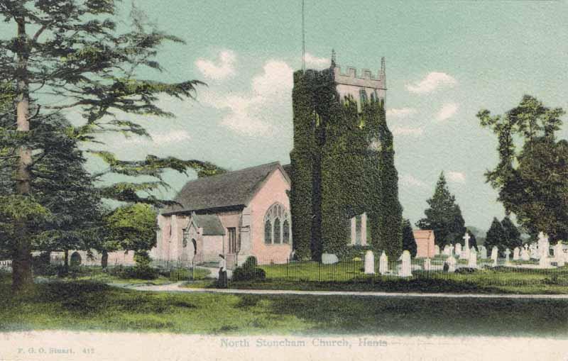 North Stoneham Church, Hants