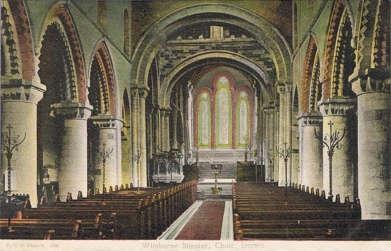 Wimbourne Minster, Choir, Dorset