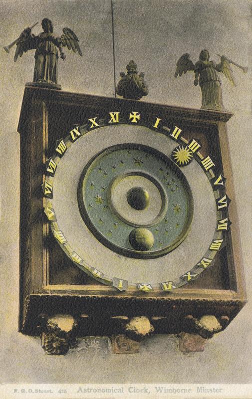 425  -  Astronomical Clock, Wimbourne Minster