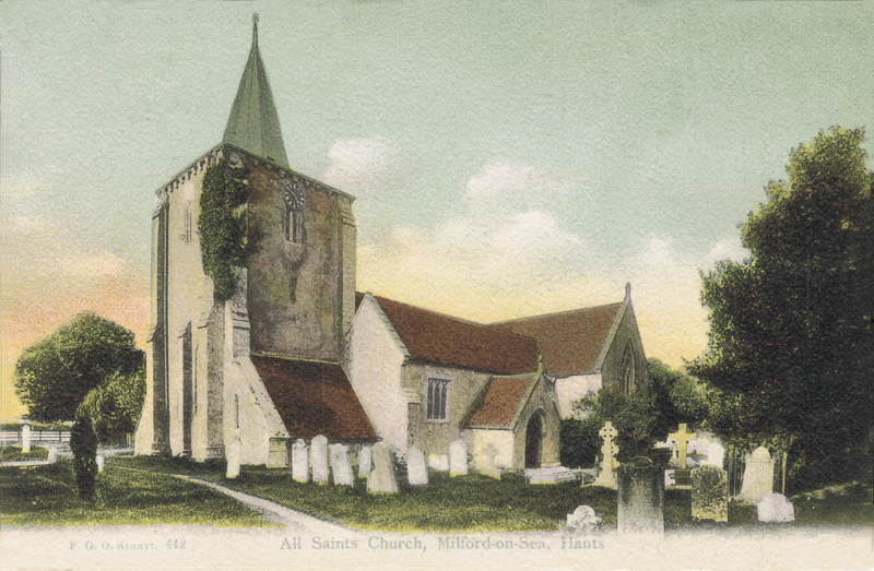 All Saints Church, Millford-on-Sea, Hants
