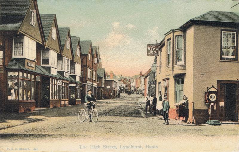 The High Street, Lyndhurst, Hants