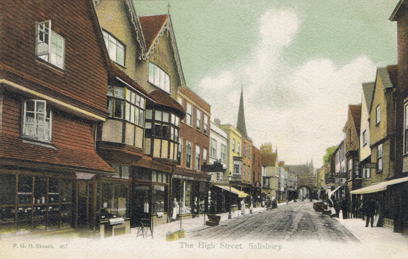 The High Street, Salisbury