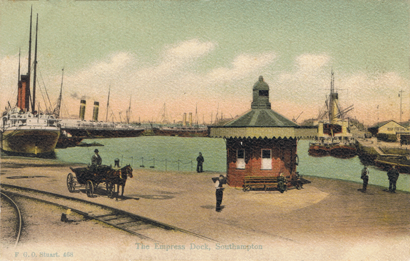 The Empress Dock, Southampton