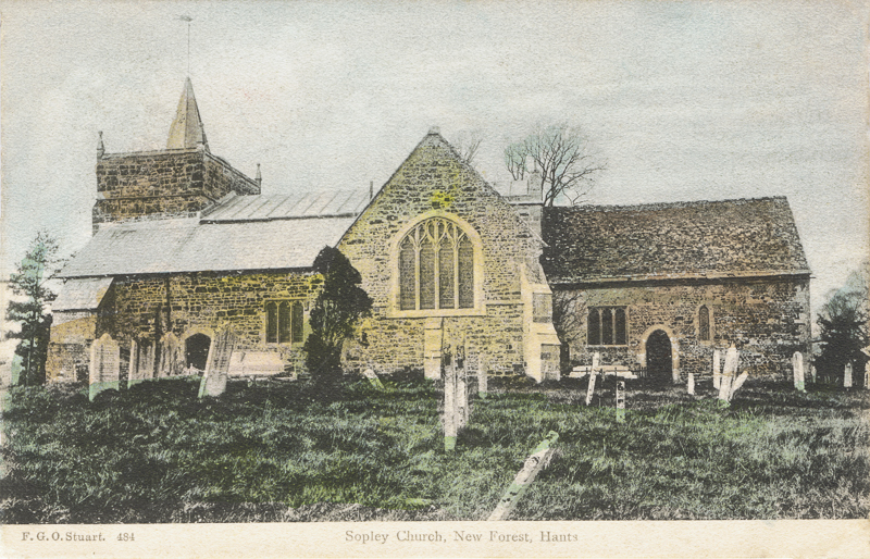 Sopley Church, New Forest, Hants