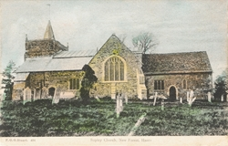 484  -  Sopley Church, New Forest, Hants