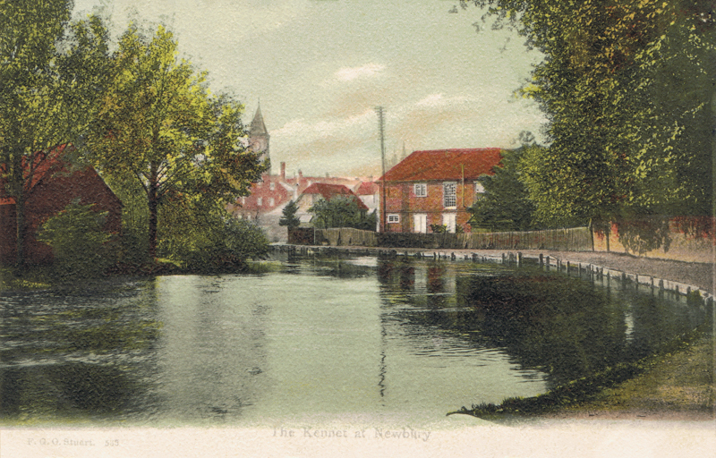 The Kennet at Newbury