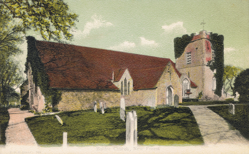 Boldre Church, New Forest