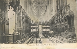 558  -  Winchester Cathedral, Choir From East
