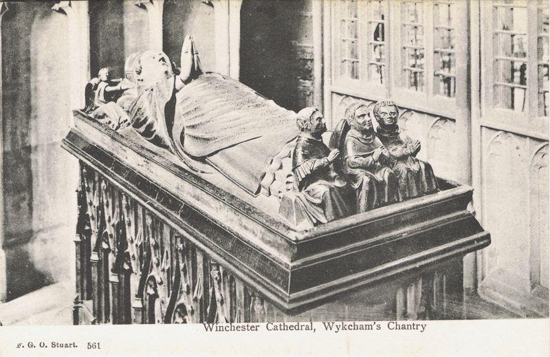 Winchester Cathedral, Wykeham's Chantry