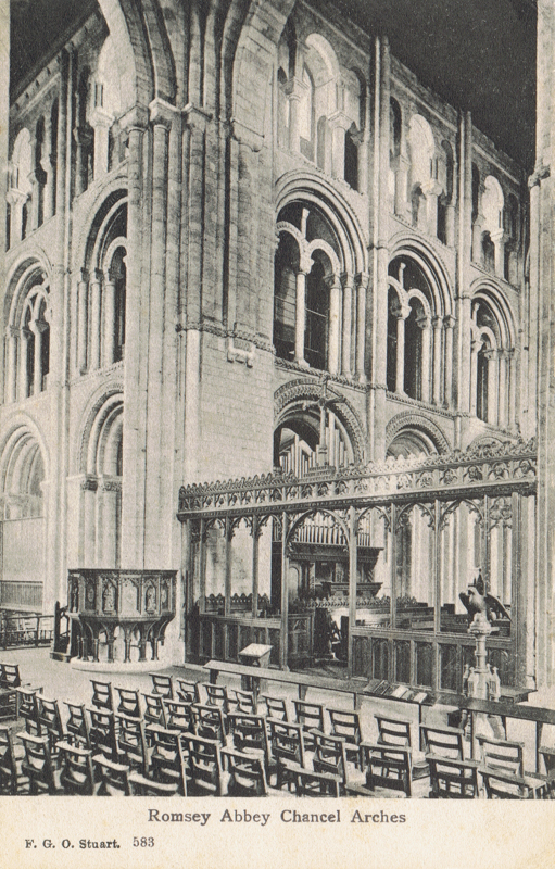 Romsey Abbey Chancel Arches