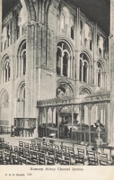 583  -  Romsey Abbey Chancel Arches