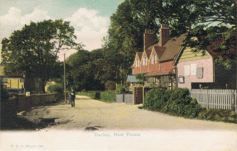 Burley. New Forest