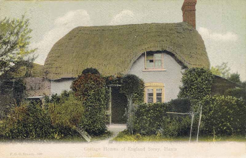 Cottage Homes of England, Sway, Hants