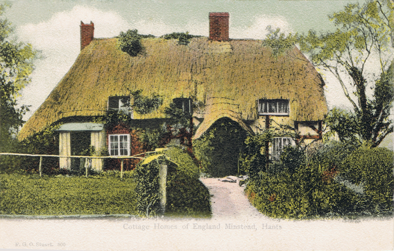 Cottage Homes of England, Minstead, Hants