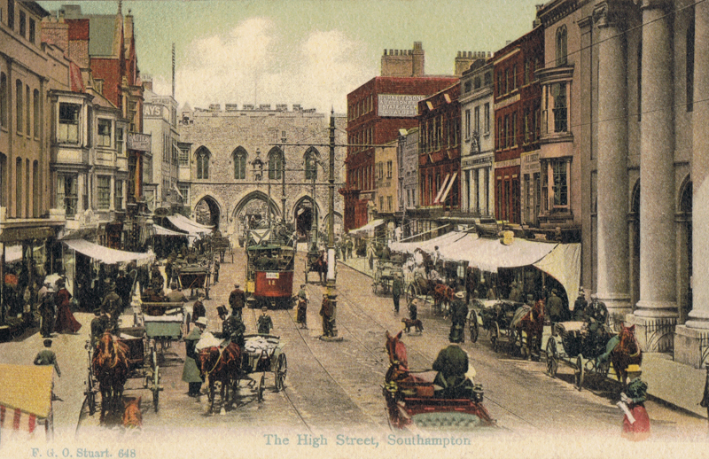The High Street, Southampton