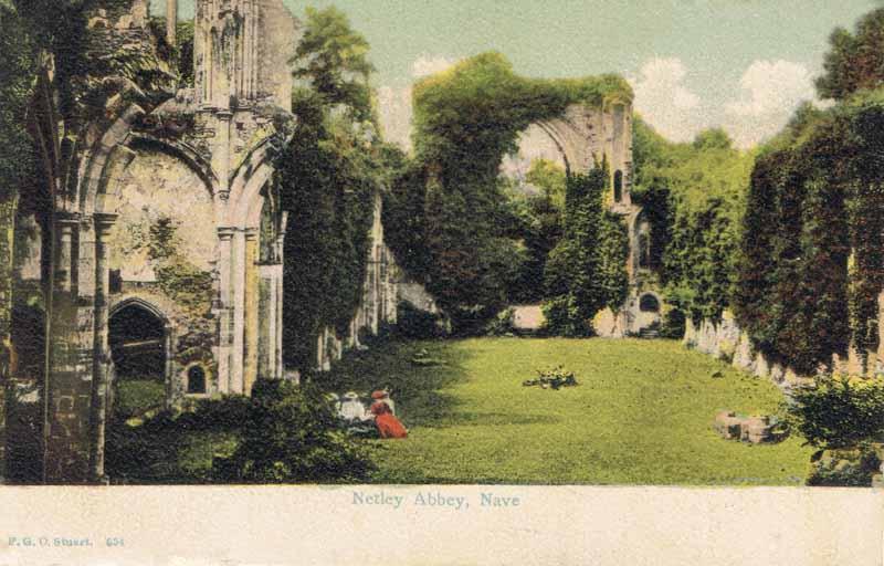 Netley Abbey, Nave