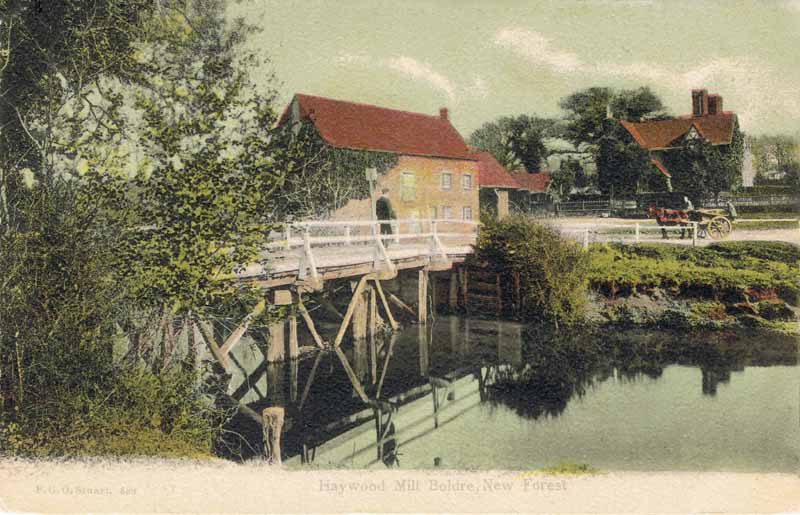 Haywood Mill, Boldre, New Forest