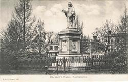 697  -  Dr Watts Statue, Southampton