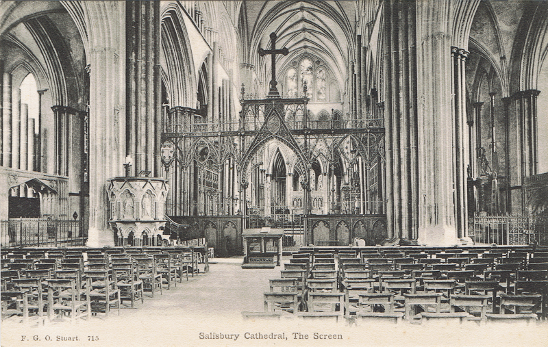 Salisbury Cathedral, The Screen
