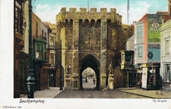 7184  -  Southampton, The Bargate